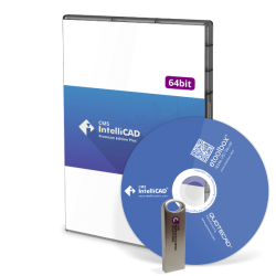 CD+USB CMS IntelliCAD PE Plus