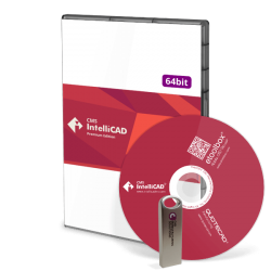 CD+USB CMS IntelliCAD PE