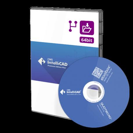 CMS IntelliCAD 10 PE Plus Network 5 utilizadores