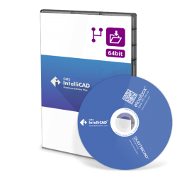 CMS IntelliCAD 10 PE Plus Network - 10 utilizadores